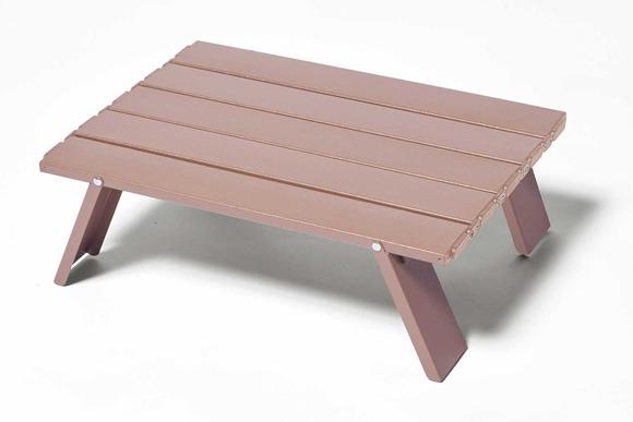 ワークマンアルミローテーブル